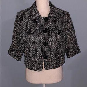 New Lane Bryant tweed short jacket blazer